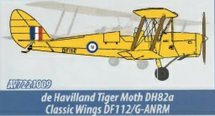 DH.82A Tiger Moth Classic Wings DF112/G-ANRM