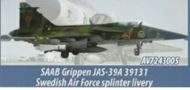 Saab JAS 39A Gripen No. 2 Squadron, F-7 Skaraborg Air Force Wing, Swedish Air Force, 2012