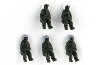 Modern US Pilot Figures 5-Piece Set