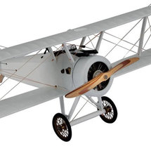 Sopwith Camel WWI Small Authentic Models White Version