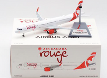 Air Canada Rouge Airbus A321-211 C-GHQI With Stand