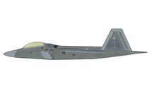 F-22A Raptor USAF 1st OG, 27th FS Fightin` Eagles, #09-4185