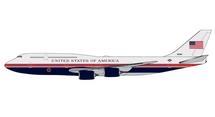 U.S. Air Force One B747-8 30000 Gemini Jets Display Model