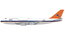South African B747-400 ZS-SAX 1990s livery Gemini 200 Diecast Display Model