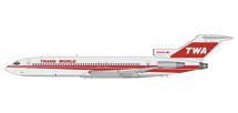 TWA B727-200 N54353 Twin-stripe livery Gemini 200 Diecast Display Model