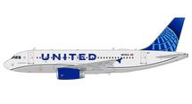 United A319 N876UA New Livery Gemini 200 Diecast Display Model