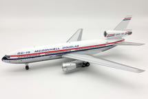 McDonnell Douglas DC-10 N10DC with stand and 50th anniversary coin polished