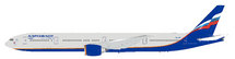 Aeroflot Russian Airlines Boeing 777-300/ER VQ-BFL with stand
