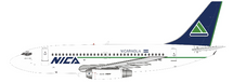Nica Boeing 737-200 N501NG With Stand