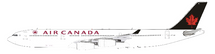 Air Canada Airbus A340-300 C-FYLG with stand