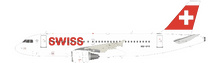 Swiss International Air Lines Airbus A319-112 HB-IPV With Stand