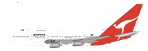 Qantas VH-EAB Boeing 747SP-38 with stand