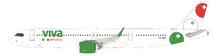 VivaAerobus XA-VBA Airbus A321-271NX with stand