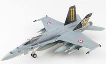 F/A-18C Hornet Swiss Air Force 11 Staffel Tigers, #J-5011, Meiringen AB, Switzerland, 2020