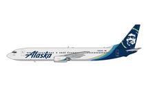 Alaska Airlines 737-900, N303AS Gemini Jets Diecast Display Model