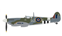 Spitfire Mk IX RAF No.126 Sqn, ML214, Johnny Plagis, RAF Harrowbeer, England, July 1944