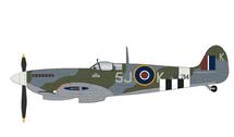 Spitfire Mk IX RAF No.126 Sqn, ML214, Johnny Plagis, RAF Harrowbeer, England, July 1944