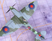 Spitfire Mk IX RAF No.331 (Norwegian) Sqn, PL258, Carl Jacob Stousland, 1944