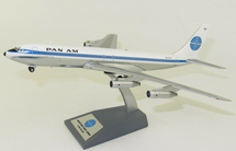 Pan Am Boeing 707-300 N434PA With Stand Polished