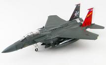 F-15E Strike Eagle USAF 389th FS Thunderbolts, #87-0173, Mountain Home AFB, ID, Squadron 75 Anniversary 2018