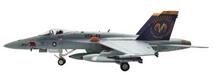 F/A-18C Hornet USN VFA-83 Rampagers, USS John F. Kennedy, 2005