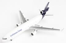 Lufthansa Cargo McDonnell Douglas MD-11F, D-ALCD Gemini Jets Diecast Display Model