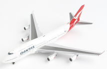 Qantas 747-400ER, VH-OEH Hervey Bay Gemini Jets Diecast Display Model