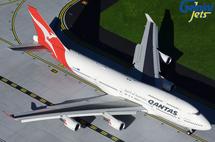Qantas 747-400ER, VH-OEH Hervey Bay Gemini 200 Diecast Display Model