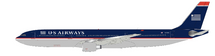 US Airways Airbus A330-323 N678US with stand