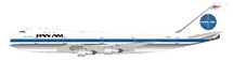 Pan Am Boeing 747-100 N725PA with stand