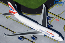 British Airways B747-400, G-CIVN Gemini Jets Diecast Display Model