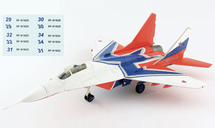 MiG-29 Fulcrum Strizhi Aerobatic Team, Russian Air Force, 2019 Includes Decal Sheet