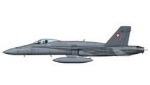 F/A-18C Hornet Swiss Air Force, Switzerland, w/Decal Sheet