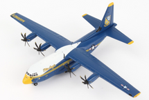 C-130J Blue Angels U.S. Marines (new livery), Gemini Macs Diecast Display Model