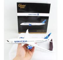 United Airlines B787-9 N24976 new livery Gemini 200 Diecast Display Model