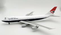 British Airways G-BDXH Boeing 747-200 plus stand and coin