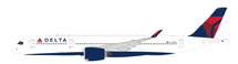 Delta Air Lines Airbus A350-941 N508DN with stand FLAPS DOWN