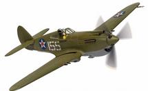 P-40B Warhawk USAAC 15th PG, 47th PS, White 155, Kenneth Taylor, Wheeler Field, Pearl Harbor, HI, December 7th 1941 from Corgi