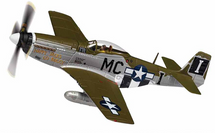 P-51D Mustang USAAF 20th FG, 79th FS, #44-13761 Happy Jack`s Go Buggy, Jack Ifrey, RAF Kings Cliffe, England, August 1944