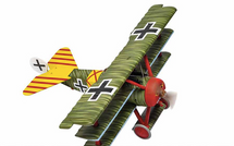 Dr.I Triplane Luftstreitkrafte JG 1 Flying Circus, Werner Steinhauser, Cappy Aerodrome, France, Death of the Red Baron, April 21st 1918