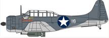 SBD-4 Dauntless Sister, VMSB-233, U.S. Marines, Guadalcanal, 1943