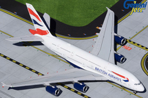 British Airways A380-800, G-XLED Gemini Jets Diecast Display Model
