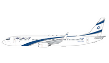 El Al Israel Airlines 737-900ER, 4X-EHD Gemini Jets Diecast Display Model
