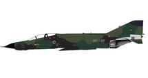 RF-4E Phantom II Luftwaffe AufklG 52, 35+67, Leck AB, Germany, 1992