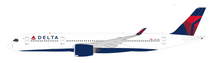 Delta Air Lines Airbus A350-941 N511DN with stand FLAPS UP