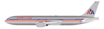 American Airlines Boeing 767-300 N363AA with stand polished