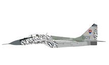 MiG-29AS Fulcrum-C Slovak Air Force 1st Letka, #6829 Slovak Tiger, Sliac AB, Slovakia, 2002