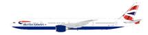 British Airways Boeing 777-300/ER G-STBP With Stand