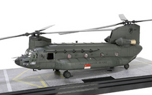 CH-47SD Chinook Diecast Model RSAF 127 Sqn, Sembawang AB, Singapore, 2008