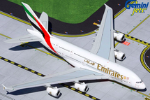 """Emirates A380 with """"Expo 2020"""" logo, A6-EUD Gemini Jets Diecast Display Model"""